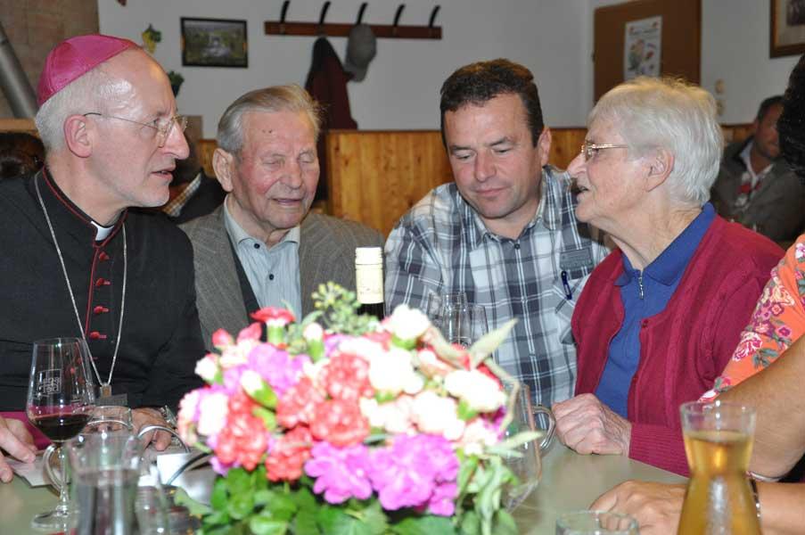 2013 Bischofsbesuch bei Schabel's
