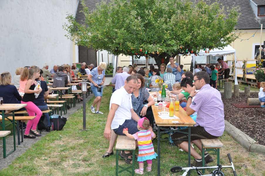 2014 Hoffest Weinbau Schabel